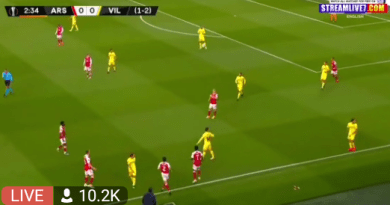 LIVE: Watch Arsenal vs Villarreal live streaming
