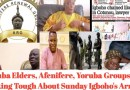 Sunday Igboho Chained, Made To Cry Like A Baby In Benin Cell As Yoruba Elders, Aferenifere Reacts