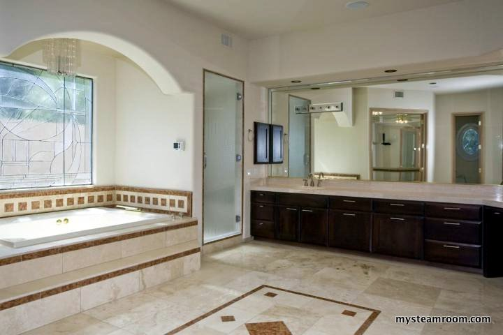 Steam shower doors steam shower reviews designs - How to make steam room in your bathroom ...