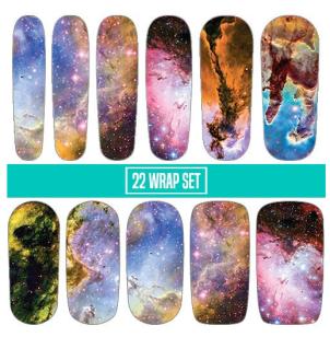 Eagle Nebula Nail Wraps – Image courtesy of Espionage Cosmetics