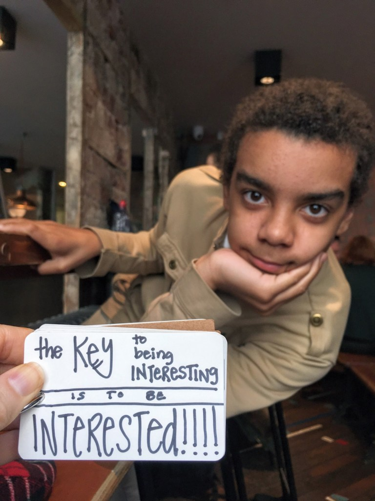 The Key to Being Interesting