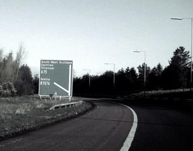 A75 Kinmount Straight - De meest spookachtige snelweg in Schotland 16
