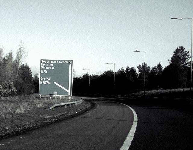 A75 Kinmount Straight Highway