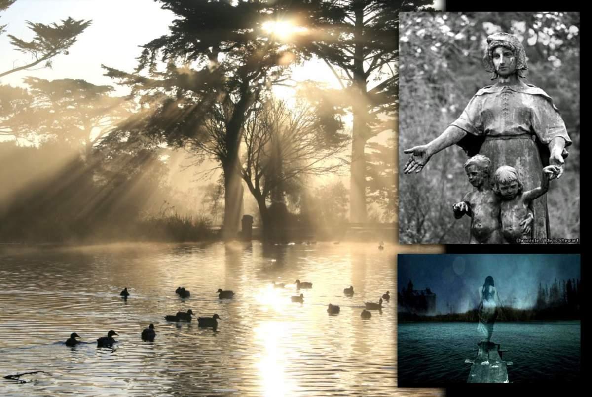 Призрак Стоу-Лейк в парке Золотые ворота 8