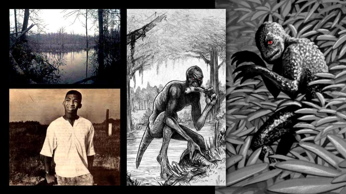 O Homem Lagarto de Scape Ore Swamp: A história dos olhos vermelhos brilhantes 6
