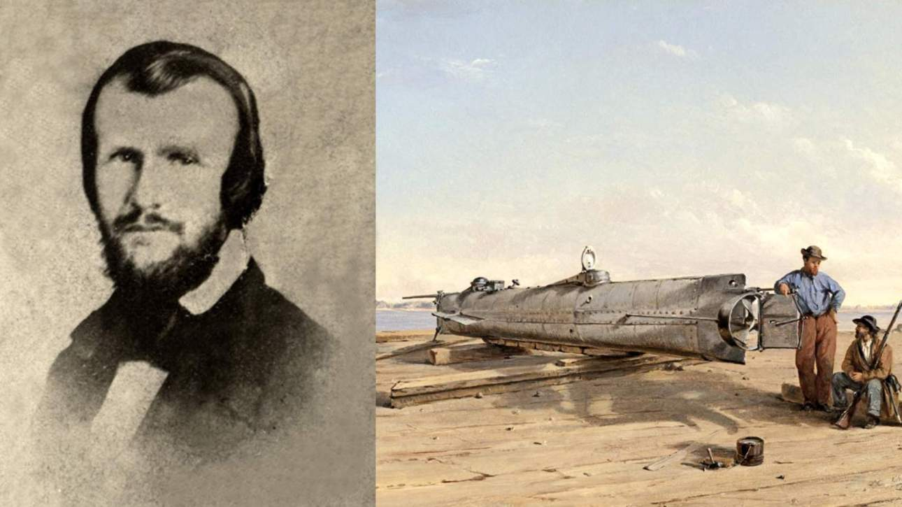 Horace Lawson Hunley Torpedo boat, submarine