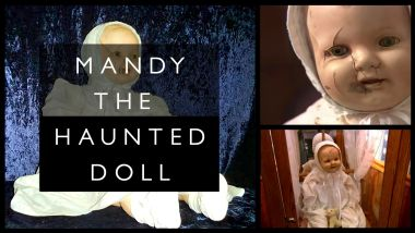 Mandy, The Cracked-Faced Haunted Doll - Η πιο κακή αντίκα του Καναδά