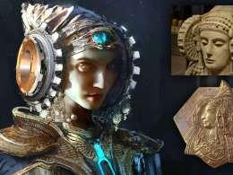 Элчи ханымының шлемі