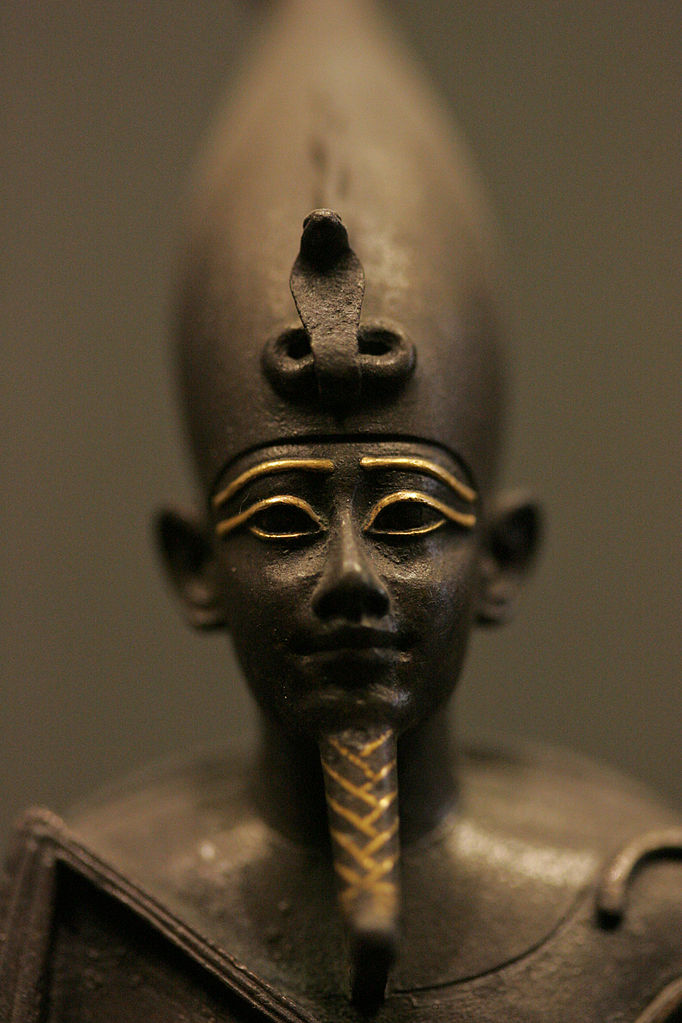 Osiris, lord of the dead and rebirth