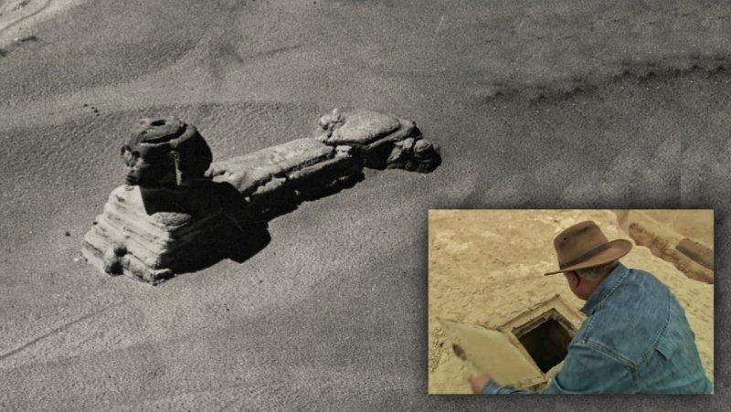 Otkrivene tajne Egipta: Skrivene odaje i možda druga sfinga ?? 16