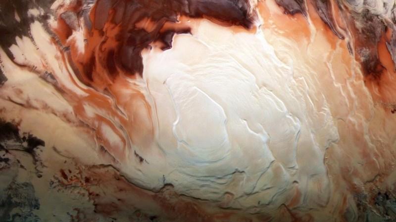 Skrivnost Marsa se poglablja, saj za njegove nenavadne radarske signale ni vode: Kaj se kuha na Rdečem planetu? 4