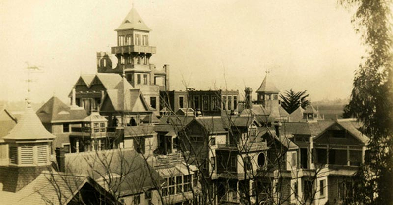 Shocking Story of The Winchester Mystery House