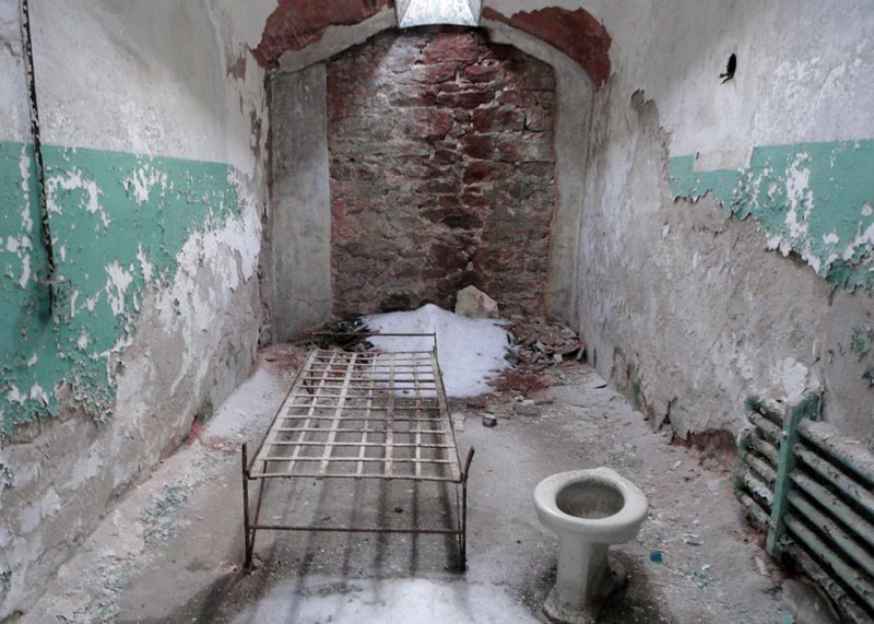Cell In Eastern State Penitentiary