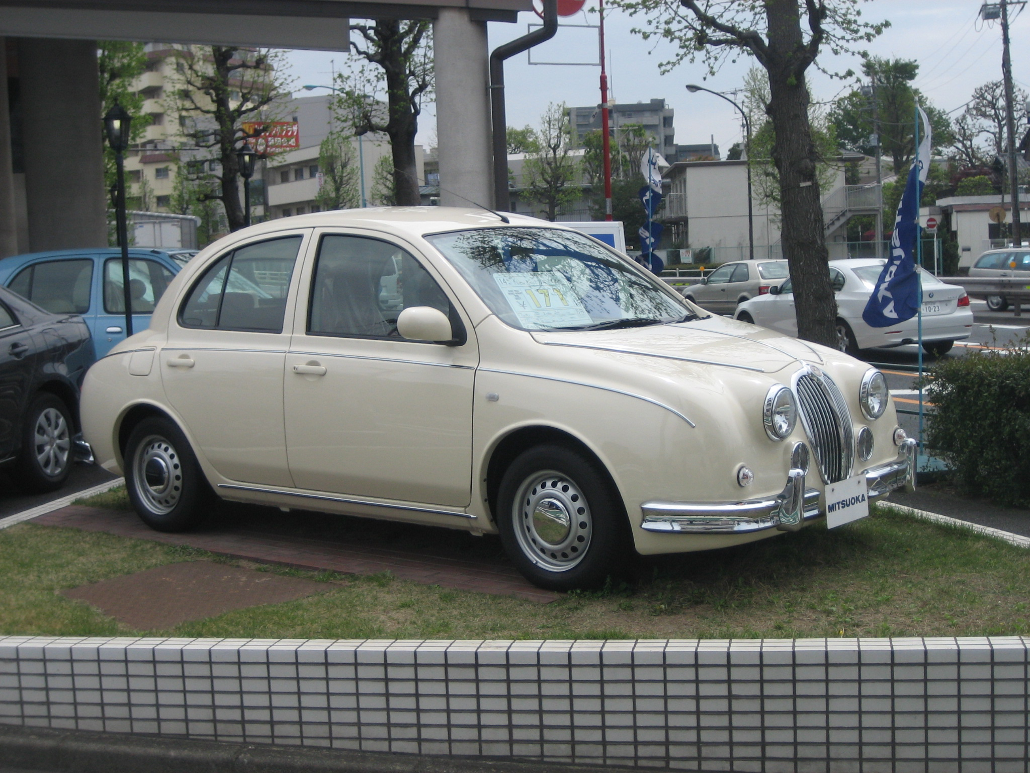 almost a jaguar (but really a pint-sized mitsuoka)