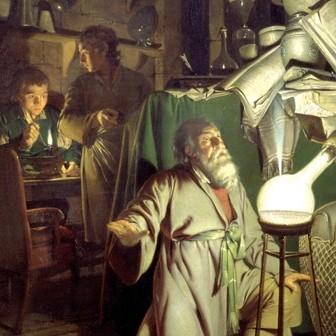魔術から科学へ:魅力的な儀式と錬金術