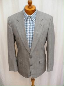 classic vintage pinstripe suit