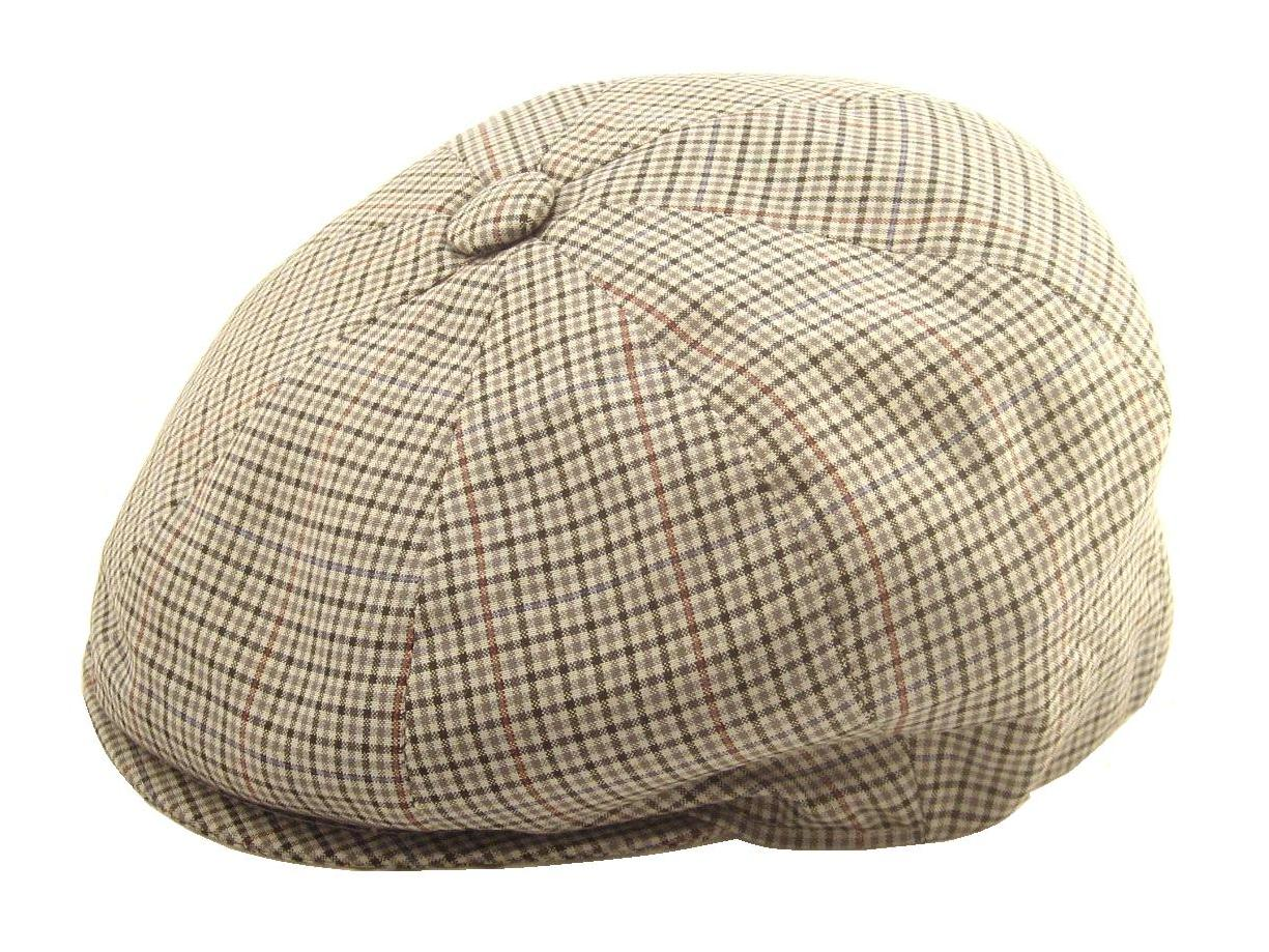 luxury tweed cap