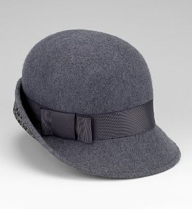 M&S pure wool 1920's cloche hat