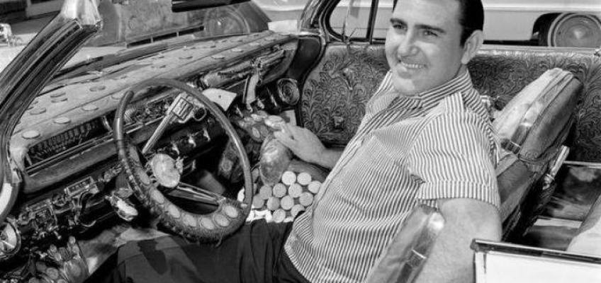 Webb Pierce and his Nudie cars