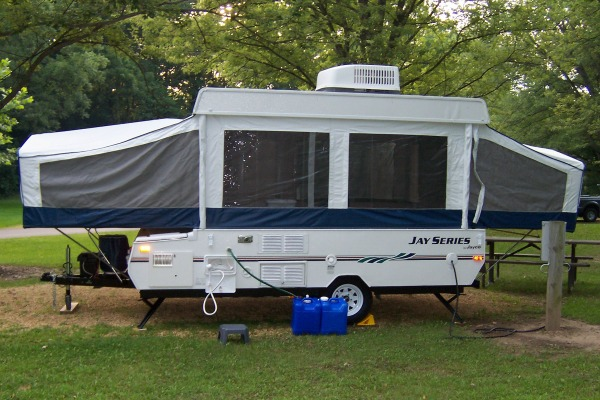 tent trailer camping