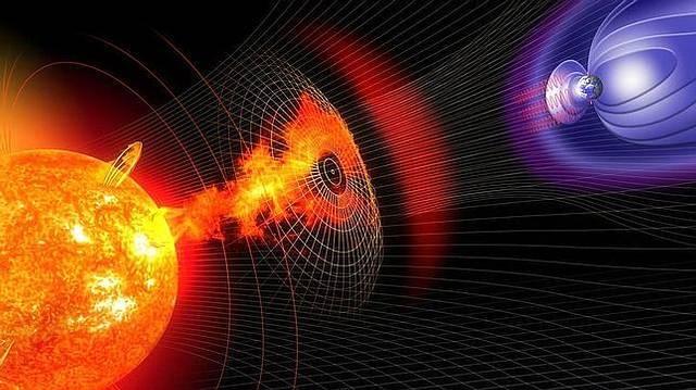 Image result for La Tierra tendrá solo 15 minutos para prepararse para una tormenta solar