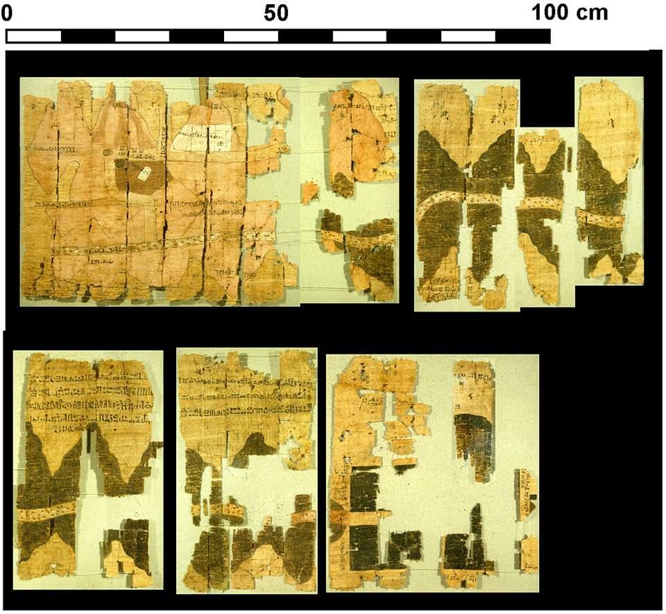Papiro de Turín.