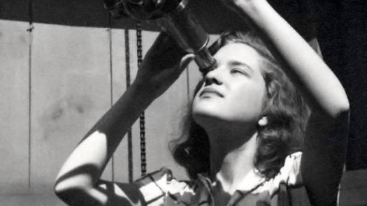 Vera Rubin en 1948.