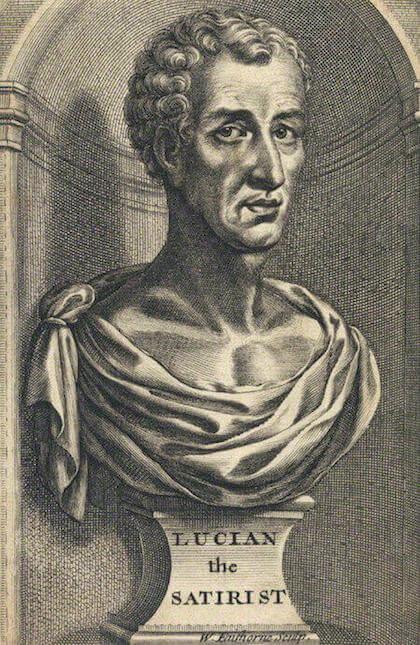 William Faithorne (1616 - 1691): Luciano imaginado.