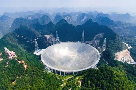 Por desgracia, la intensidad de las señales es demasiado baja como para que puedan detectarse con otros telescopios y el único que podría hacerlo, el FAST chino, está ahora en periodo de revisión y calibración.