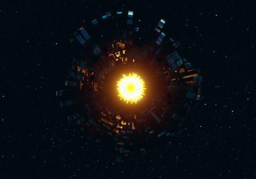 «Las supercivilizaciones crearían una especie de Internet interestelar a través de megaestructuras artificiales que transiten su estrella anfitriona».