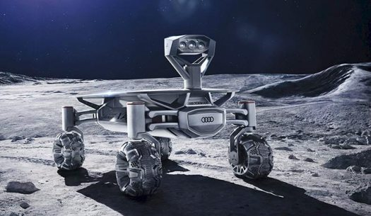 El modelo de rover Lunar Quattro fue eliminado de la competencia de Google X Prize. Sin embargo, PTScientists lo llevará a la Luna gracias al auspicio de Audi.