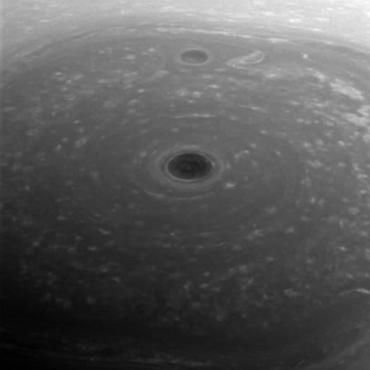 Cassini estaba a 267.000 kilómetros de Saturno cuando capturó esta imagen.