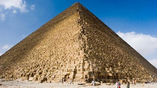 Gran Pirámide de Guiza.