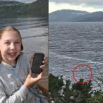 Una niña toma «la mejor foto del monstruo del lago Ness en años»
