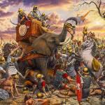 Egipto: Descubren una antigua fortaleza costera dedicada a proveer elefantes de guerra