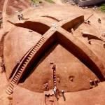 Una ancestral tumba con forma de logo de Xbox es desenterrada en China