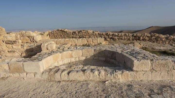 El supuesto trono de Herodes Antipas.