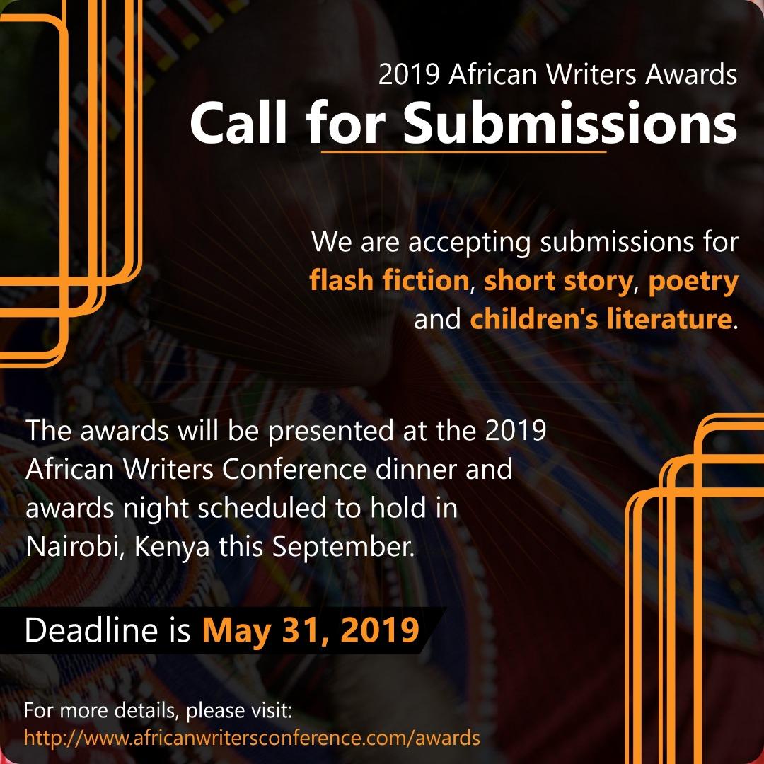 2019 African Writers Award