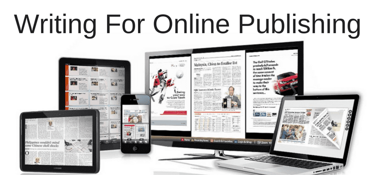 Online Publishing and Vanity Writers