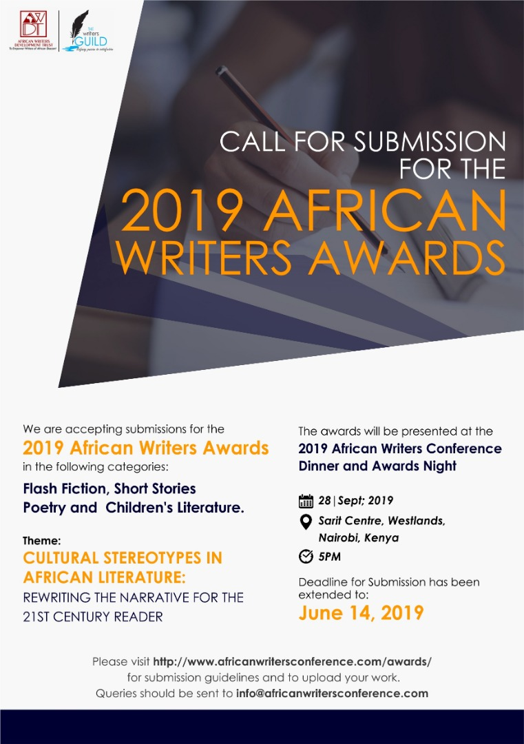 African Writers Conference Extends Date for Submission for African Writers Award