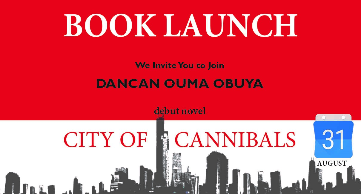 Online Book Launch – City of Cannibals by Dancan Ouma Obuya