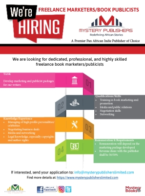Job Opportunity | Freelance Book Marketer/Publicist