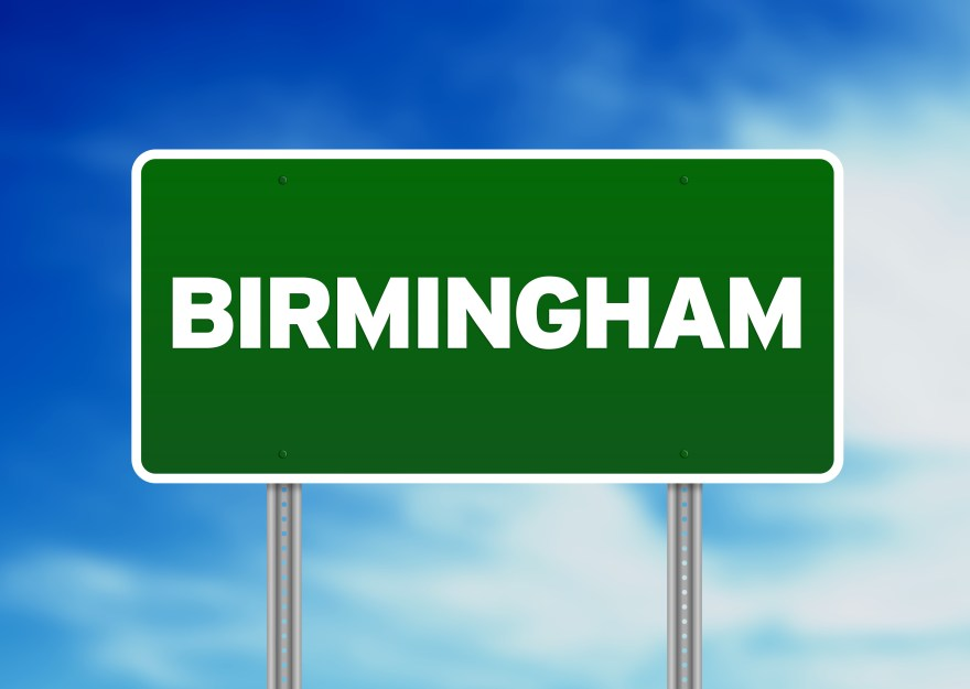 Green Road Sign -  Birmingham, England