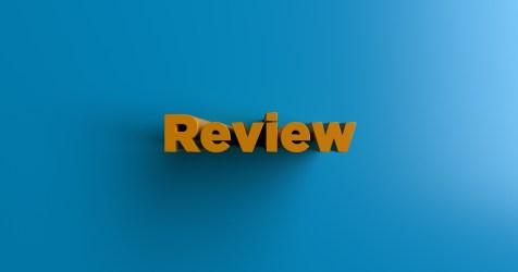 Review - 3d rendered headline