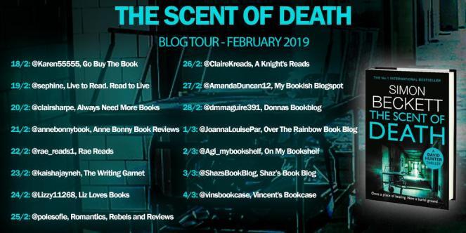 Scent of Death blog tour banner