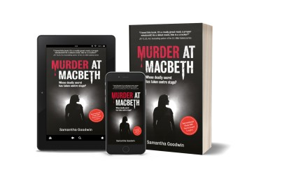 Murder at Macbeth image group of books
