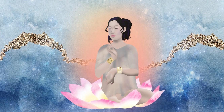 Goddess Kuan Yin art