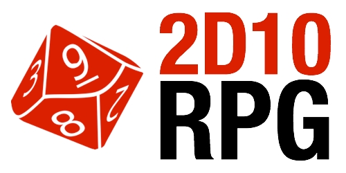 2D10 RPG Logo
