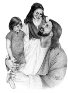 Jesus with the children