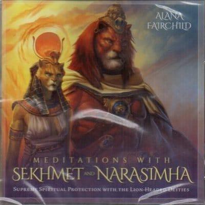 Meditations with Sekhmet and Narasimha by Alana Fairchild